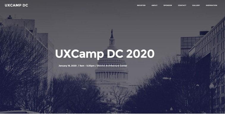 ux camp dc