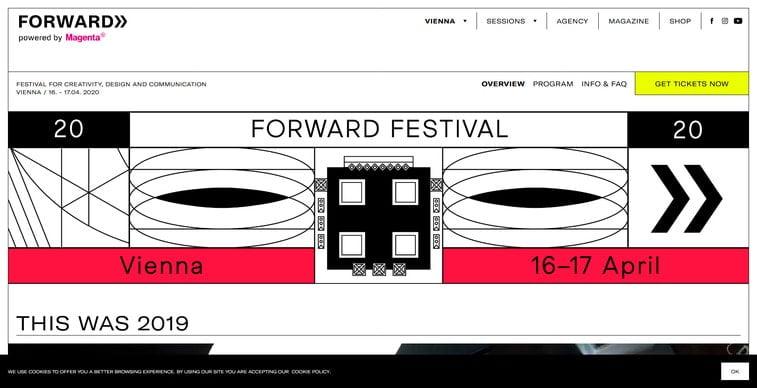 forward festival vienna