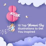 top 10 women's day illustrations