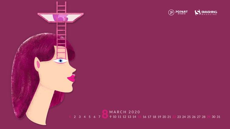 glass ceiling illustration women's day