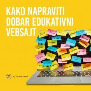 Kako napraviti dobar edukativni vebsajt