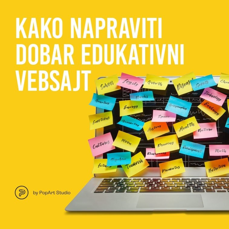 50675Kako napraviti dobar edukativni vebsajt