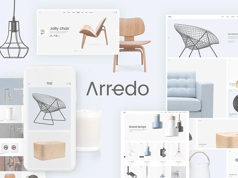 arredo furniture woocommerce theme