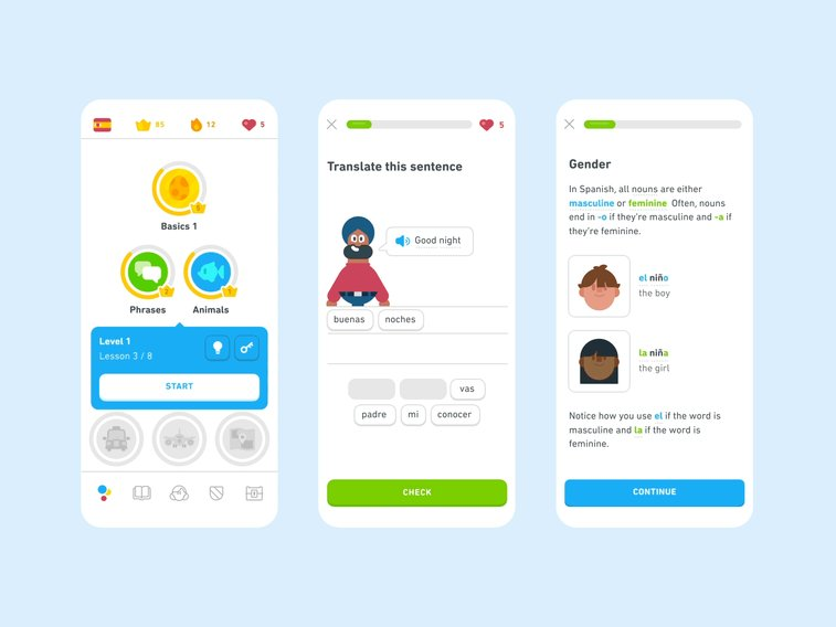 duolingo mobile version
