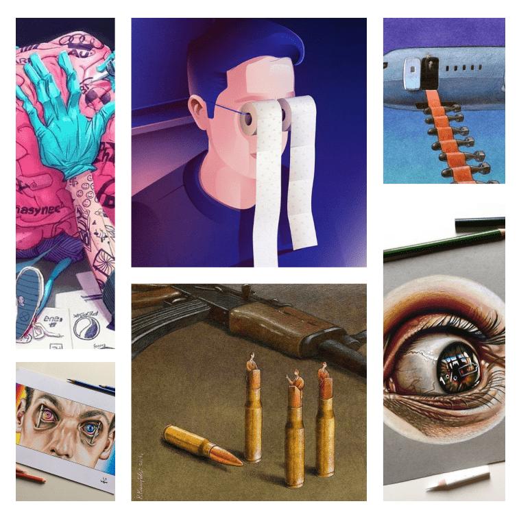 40 brutalno istinitih ilustracija o društvu u kom živimo