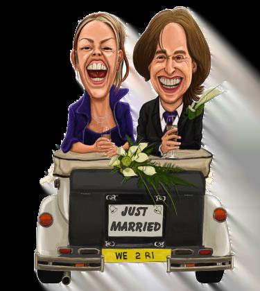 newly married copule