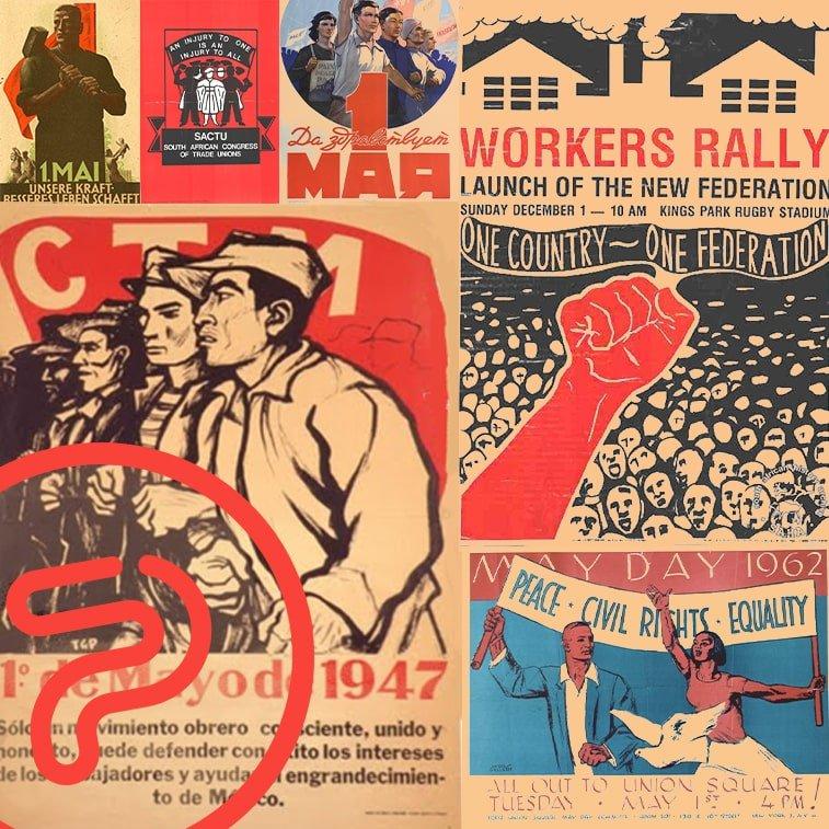 5139430 retro plakata koji su ovekovečili istoriju praznika rada