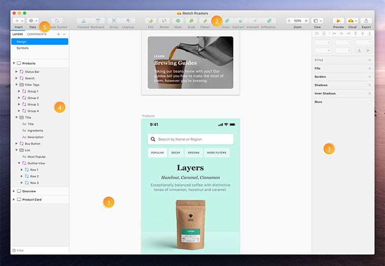 sketch interface