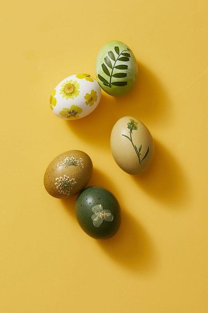 uskrsnja jaja ukrasavanje cvece