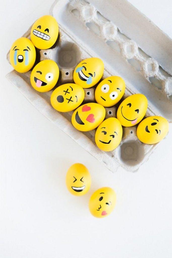 uskrsnja jaja ukrasavanje emoji