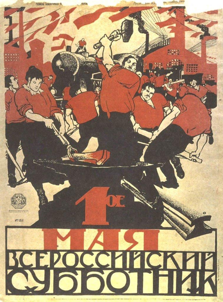 1. maj plakat