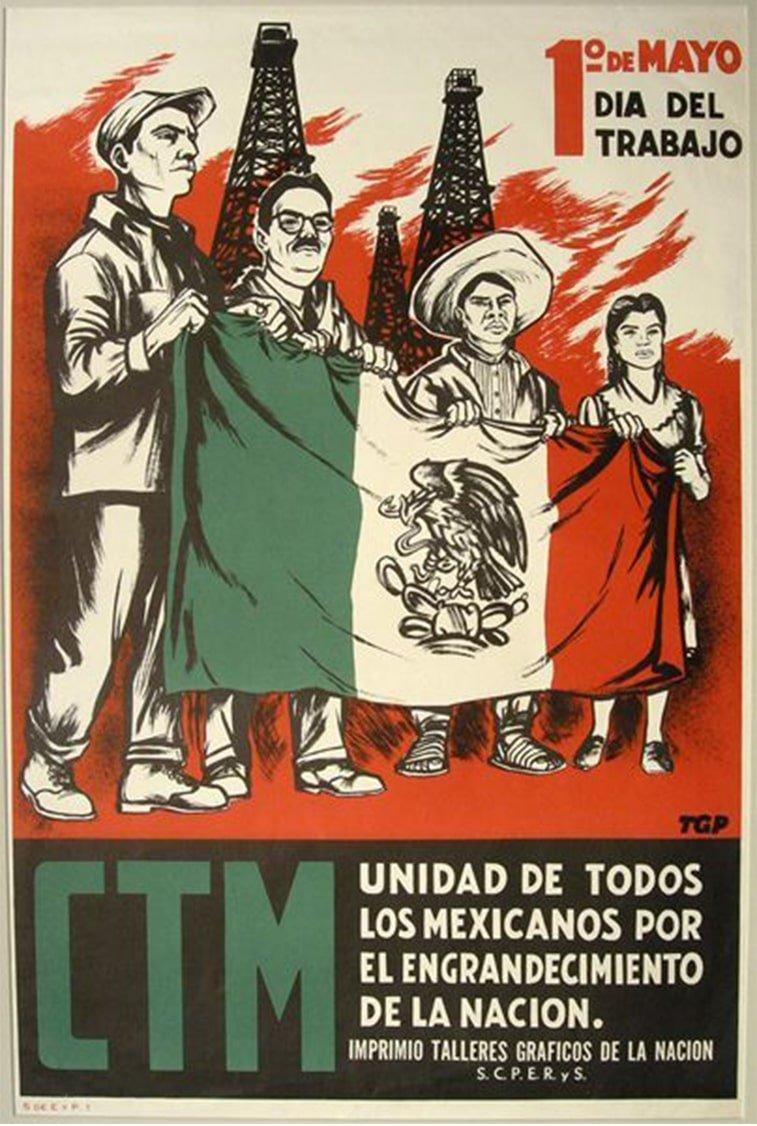 1. maj protest meksiko