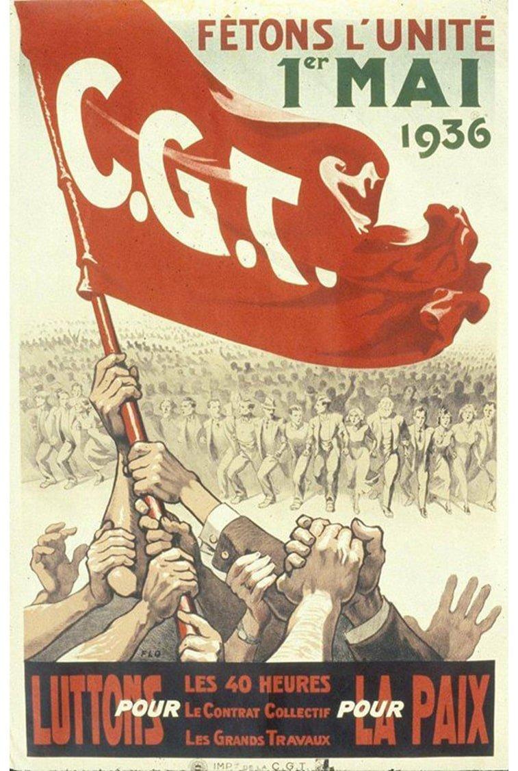 1. maj plakat francuska