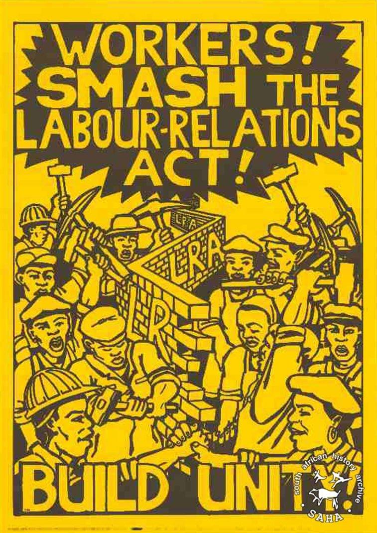 1 maj juzna afrika propagandni plakat