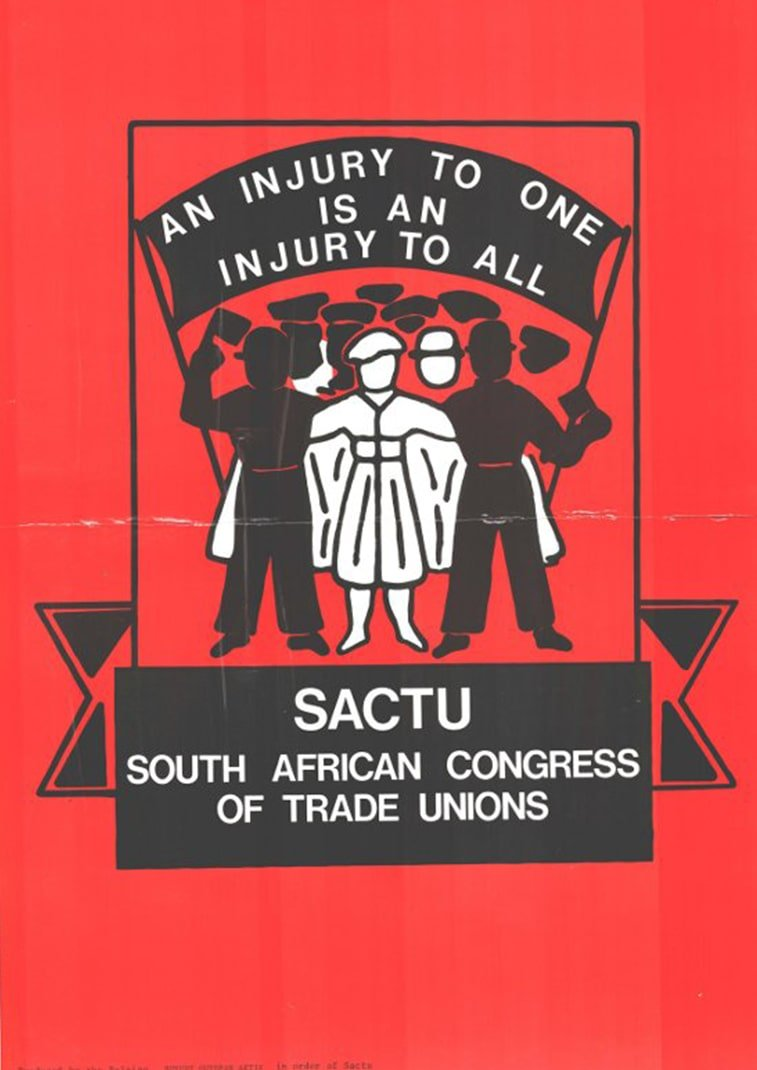 1. maj juzna afrika plakat