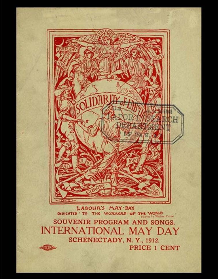 1. maj plakat njujork 1912