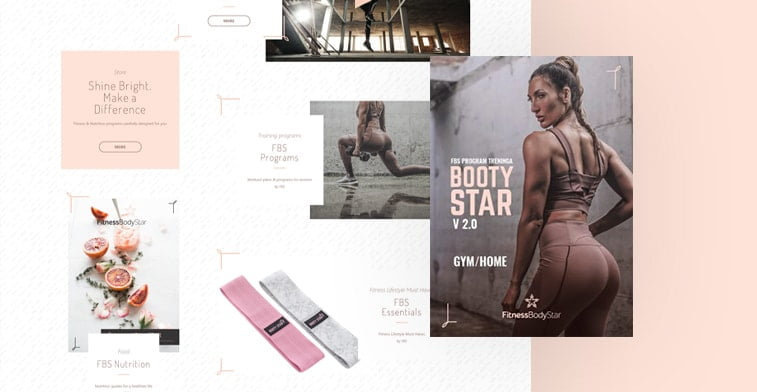 fitness body star homepage