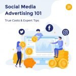 facebook twitter instagram advertising cost price