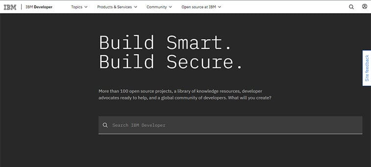 ibm web development website magazine