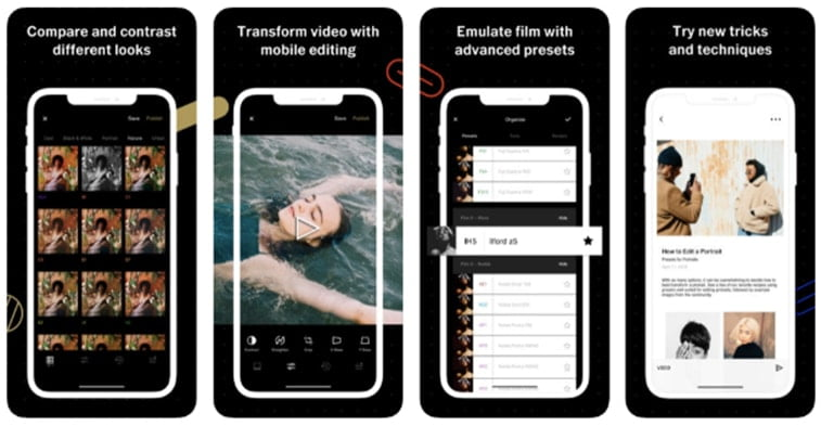 vsco mobile app instagram story