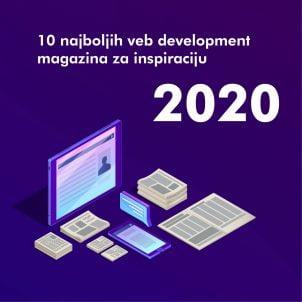 10 najboljih veb development magazina za inspiraciju u 2020.