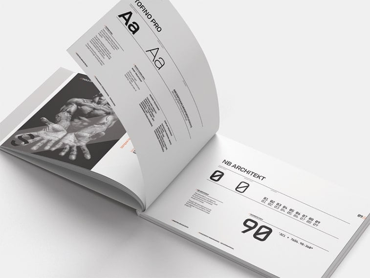 graphic standards manual example