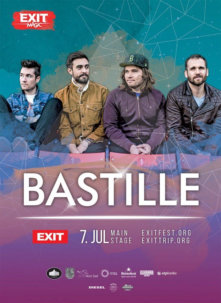 exit festival poster design bastille