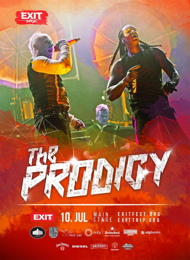 exit festival poster design the prodigy