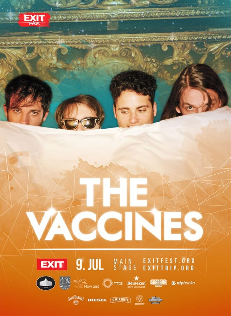 exit festival poster design the vaccines