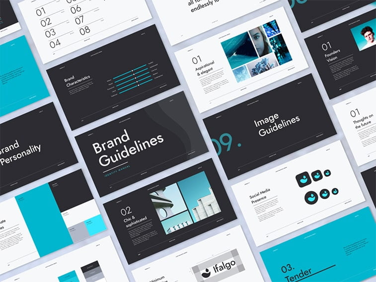 graphic standards manual business branding