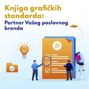 Knjiga grafičkih standarda: Partner Vašeg poslovnog brenda