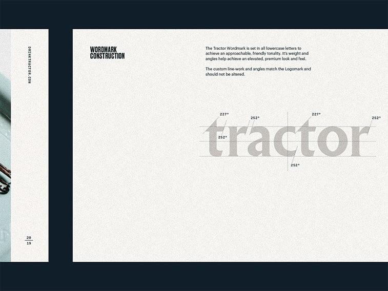 graphic standards manual typography branding