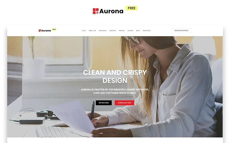best free botstrap theme template website business solution office