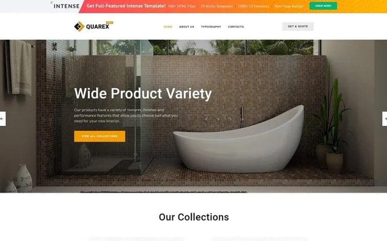 best free botstrap theme template website home interior design