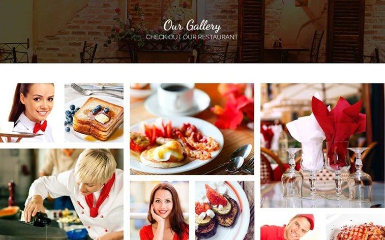 best free botstrap theme template website restaurant food delivery menu