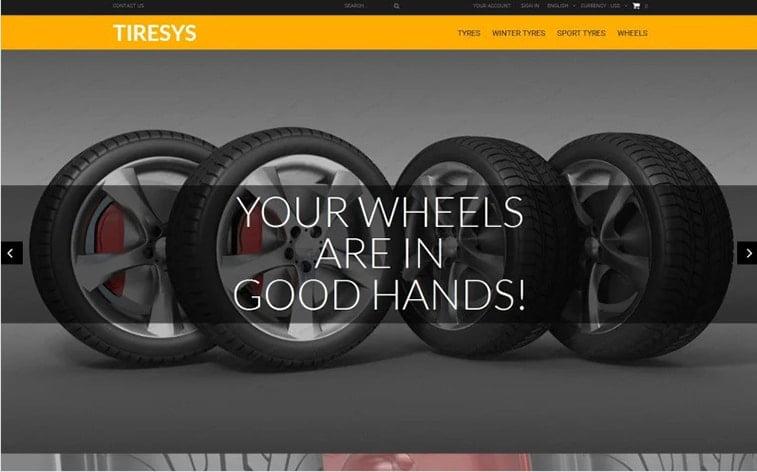 best free botstrap theme template beauty website wheels tyres car parts automobile