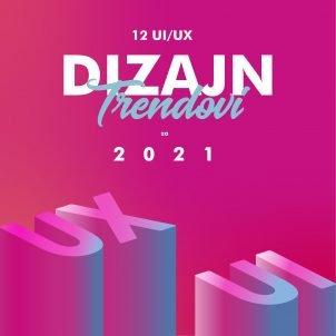 12 vodećih UI/UX trendova u dizajnu koji će dominirati u 2021.