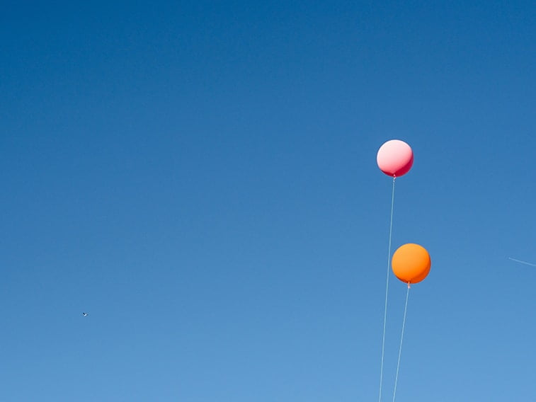 wallpaper desktop minimalism balloons