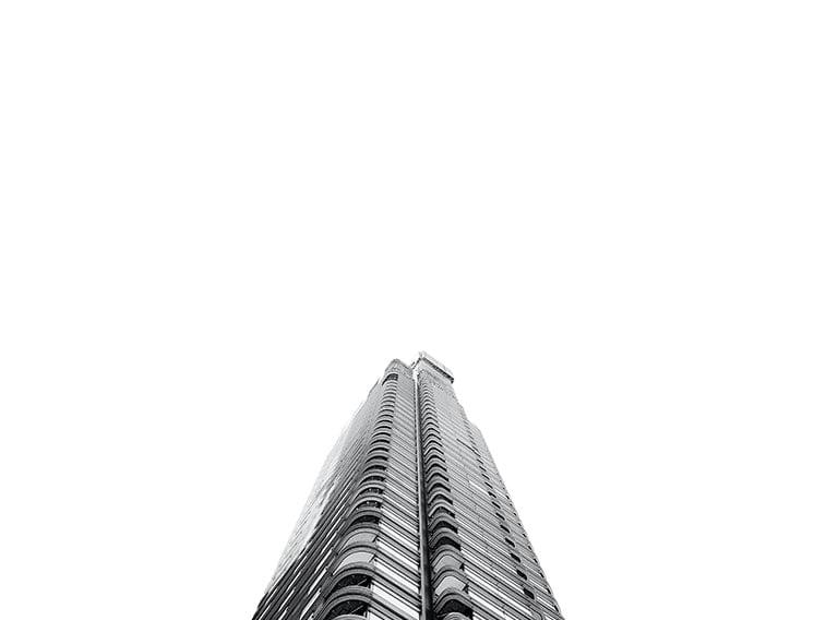 wallpaper desktop minimalism building black and white