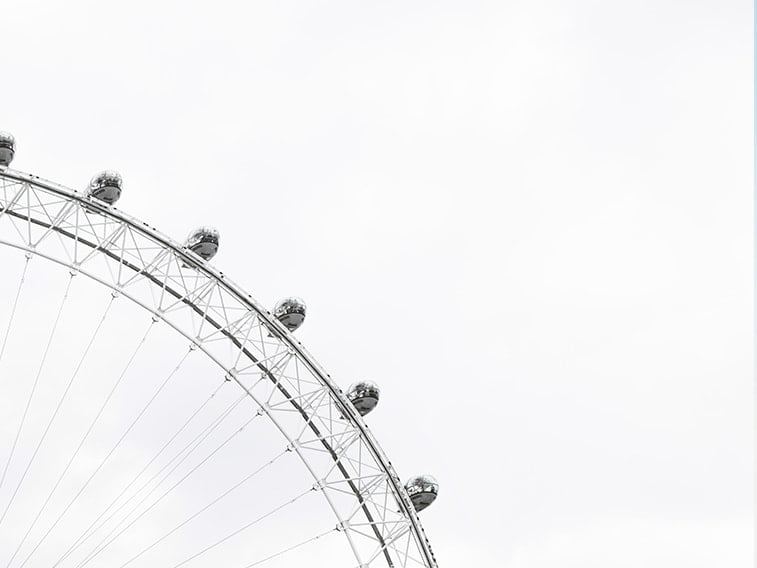wallpaper desktop minimalism ferris wheel