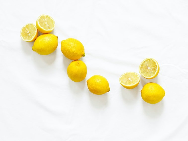wallpaper desktop minimalism lemons