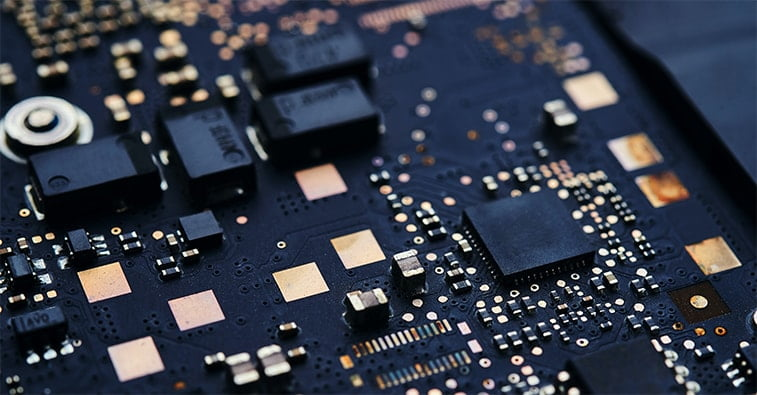 mother board black gold internet of things