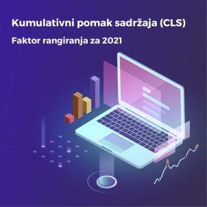 Kumulativni pomak sadržaja (CLS) – Faktor rangiranja za 2021.