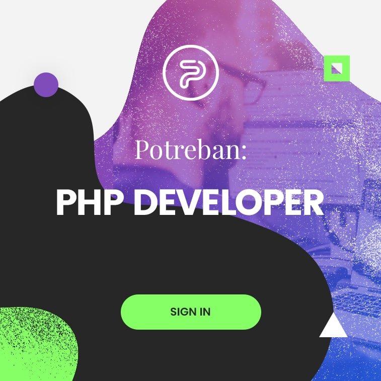 Potreban PHP developer