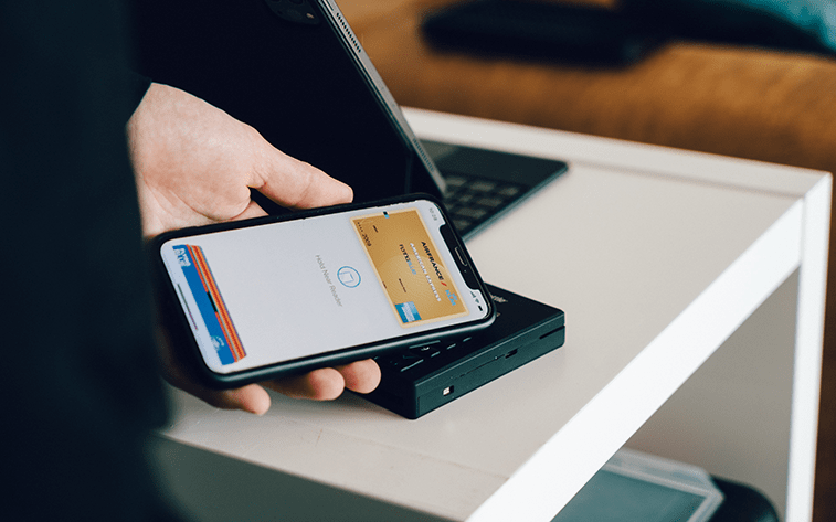 online paying via mobile phone