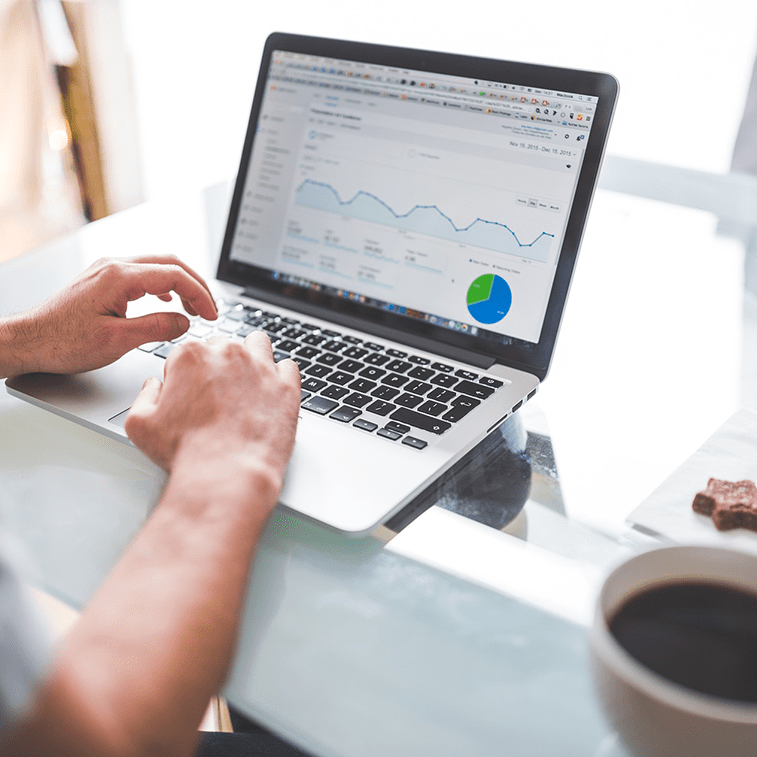 google analytics laptop