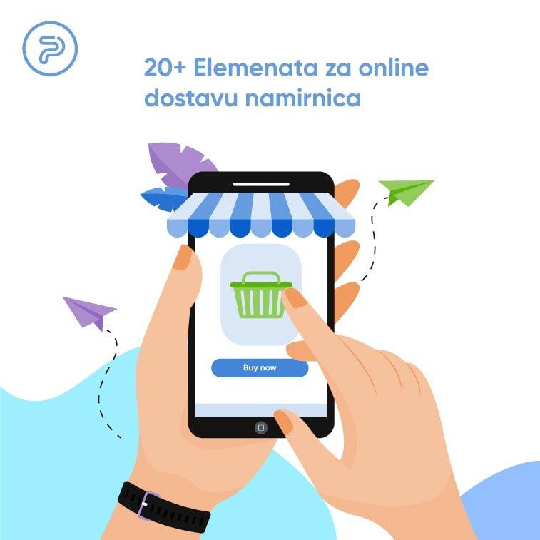 online dostava namirnica