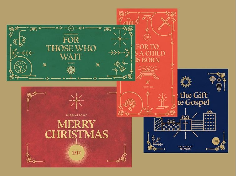 christmas card digital design ideas
