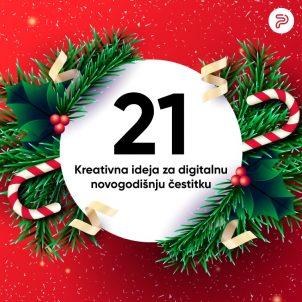 21 kreativna ideja za digitalnu novogodišnju čestitku