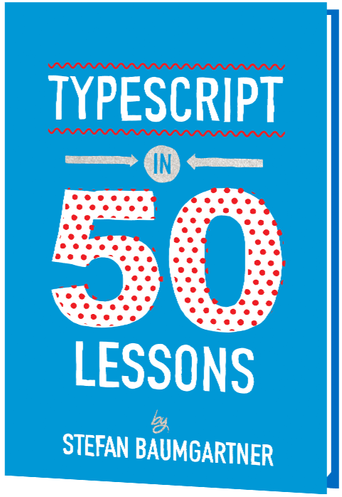 typescript in 50 lessons book cover